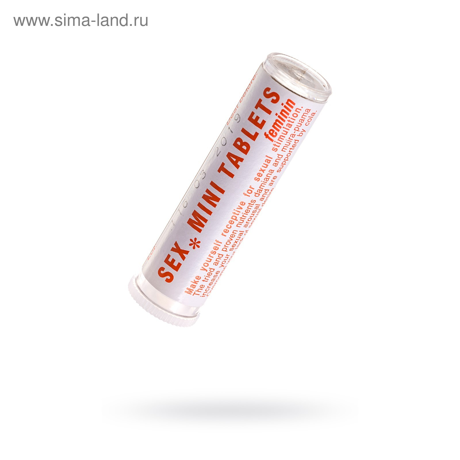 Красная секс таблетка для женщин