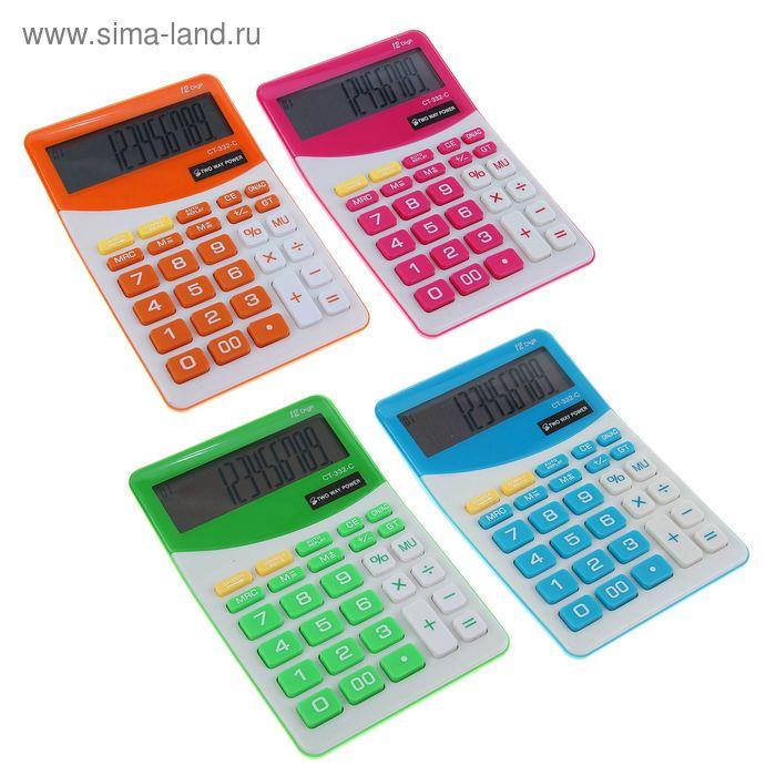 Калькулятор настольный 12-разрядный CT-332 двойное питание