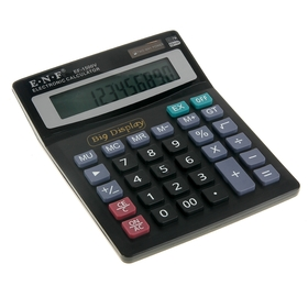 Калькулятор настольный 12-разрядный EF-1500V двойное питание Ош