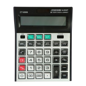 Калькулятор настольный 14-разрядный CT-6999 двойное питание Ош