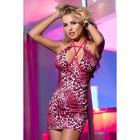 Платье с леопардовым рисунком, размер XL