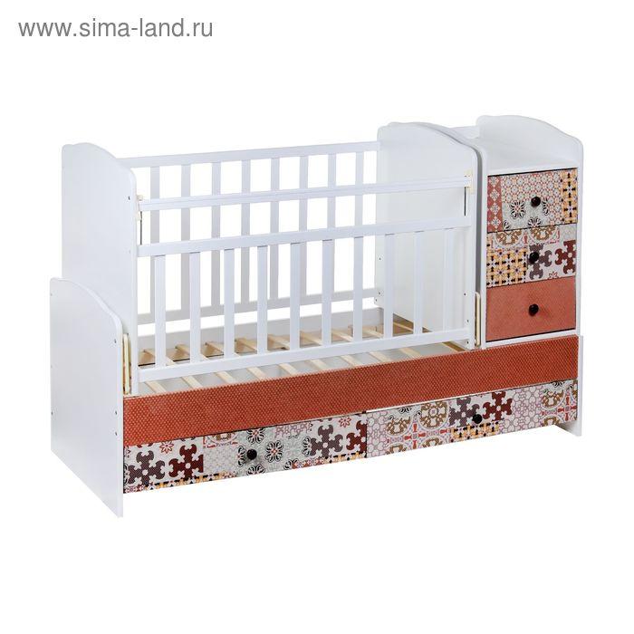 Детская кровать-трансформер «Пазлы»