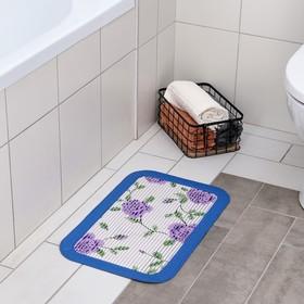 """Коврик для ванны 40х60 см """"Ванна"""" цвет МИКС"""