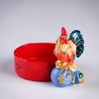 """Ashtray """"Fire cock"""", 7.5x12 cm"""