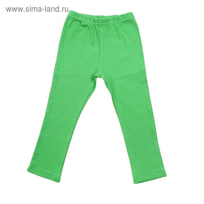 Легинсы для девочки, рост 104 (28) см, цвет зелёный (арт. Р-02_Д)