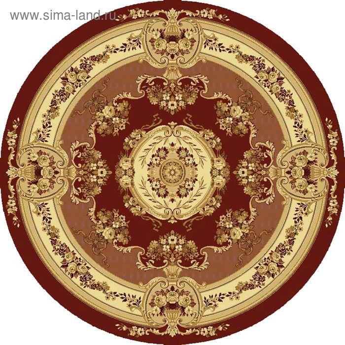 Ковёр круглый BUSHE CLASSIC EUROPEAN,  размер 150х150 см, рисунок 210/3658 0105