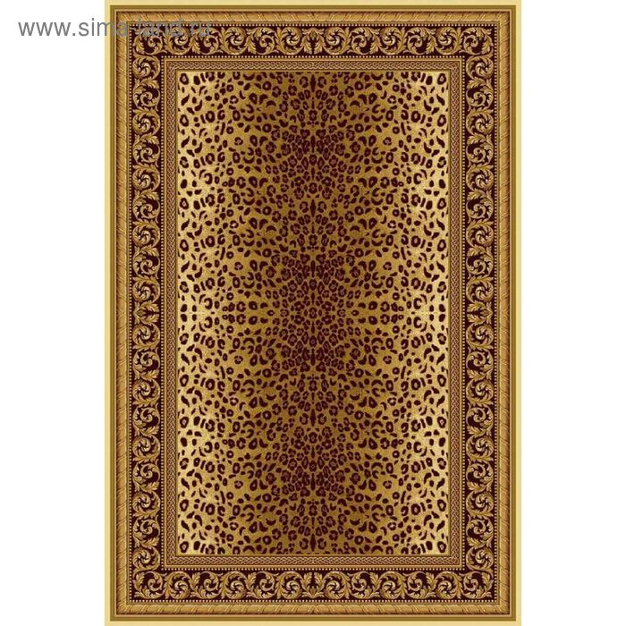 Ковёр ELITE LEOPARD EUROPEAN, размер 70х140 см, рисунок 470/61149, 3102