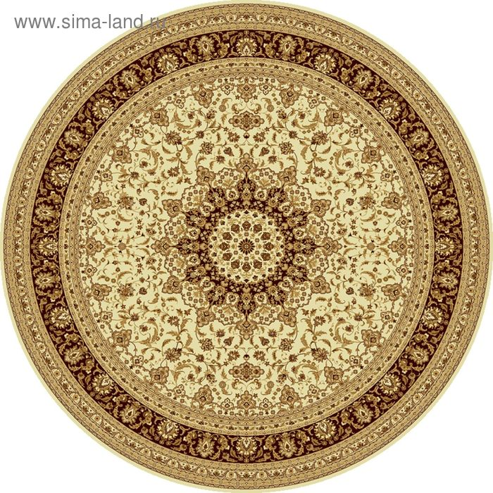Ковёр круглый ISFAHAN CLASSIC,  размер 100х100 см, рисунок 207/1149 0105