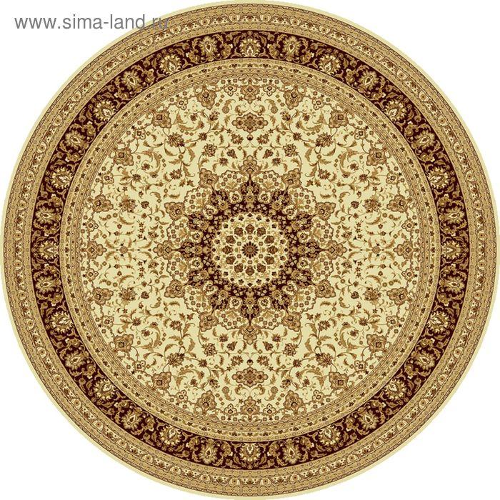 Ковёр круглый ISFAHAN CLASSIC,  размер 150х150 см, рисунок 207/1149 0105