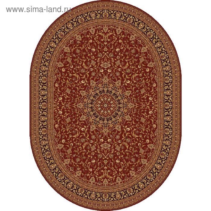Ковёр овальный ISFAHAN CLASSIC,  размер 200х300 см, рисунок 207/3658 0105