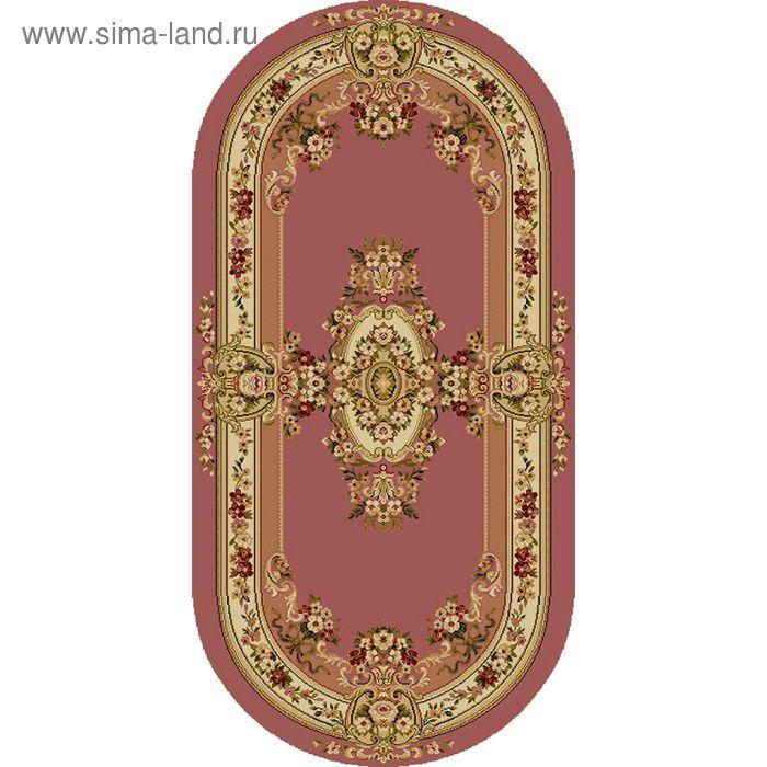 Ковёр овальный BUSHE EUROPEAN ELITE,  размер 70х140 см, рисунок 210/63282 3105