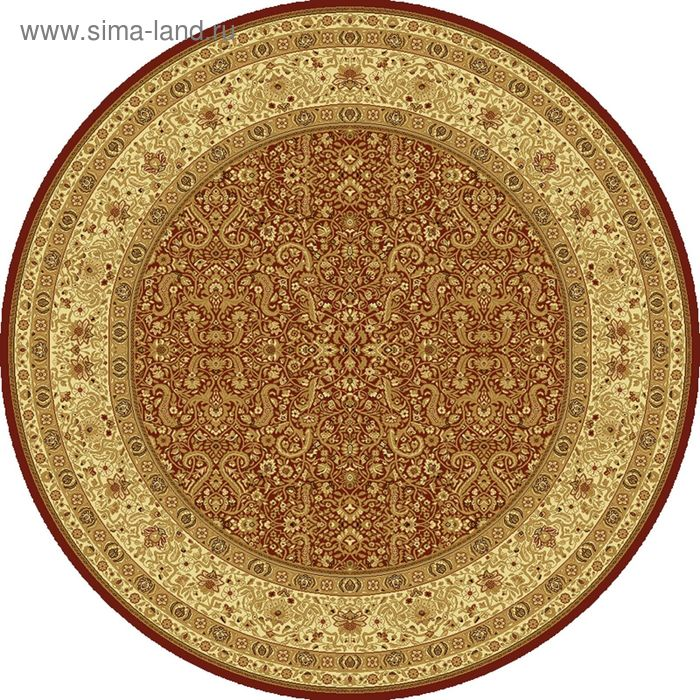 Ковёр круглый MAGIC CLASSIC,  размер 200х200 см, рисунок 287/3658 0105