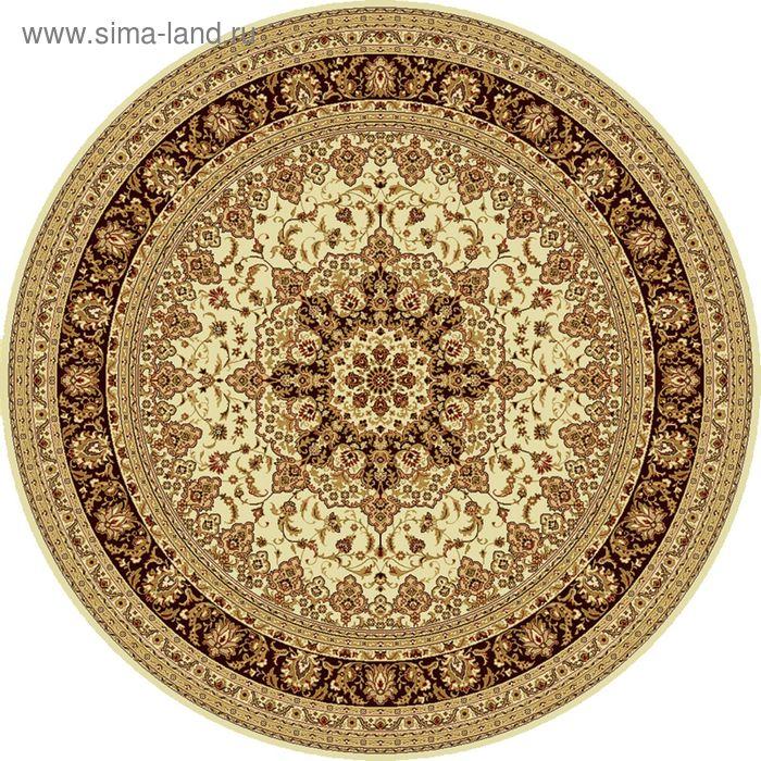Ковёр круглый ISFAHAN CLASSIC,  размер 300х300 см, рисунок 207/1659 0105
