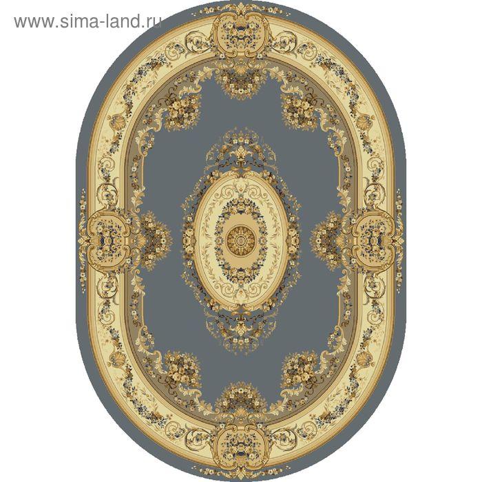 Ковёр овальный BUSHE EUROPEAN CLASSIC,  размер 60х110 см, рисунок 210/4544 0105