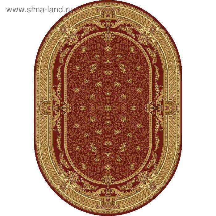 Ковёр овальный DOFIN CLASSIC EUROPEAN,  размер 150х300 см, рисунок 209/3658 0105
