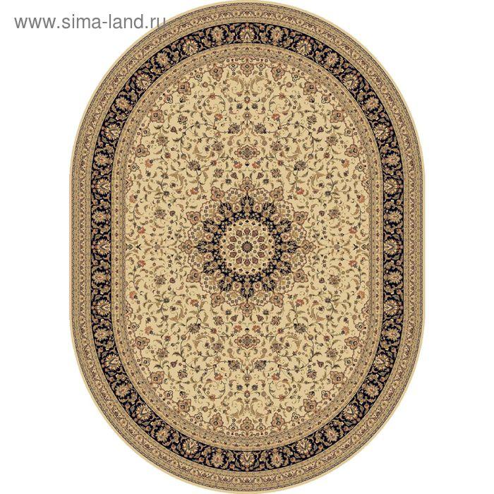 Ковёр овальный ISFAHAN CLASSIC EVOLUTION,  размер 300х400 см, рисунок 207/1622 0107