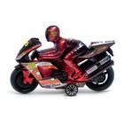 Мотоцикл инерционный «Спортбайк», с гонщиком, цвет МИКС - фото 1020245