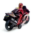 Мотоцикл инерционный «Спортбайк», с гонщиком, цвет МИКС - фото 1020246