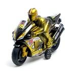 Мотоцикл инерционный «Спортбайк», с гонщиком, цвет МИКС - фото 1020248