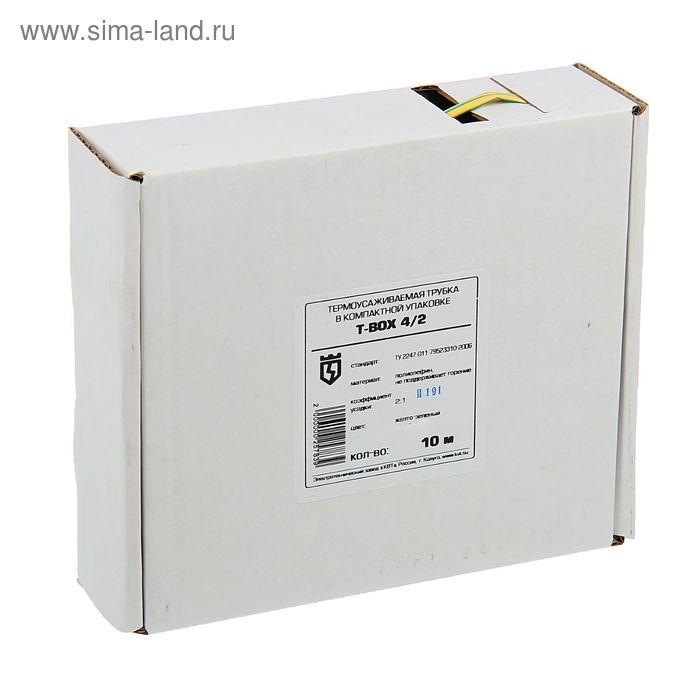 T-BOX 4/2, желто-зеленый, 10 м