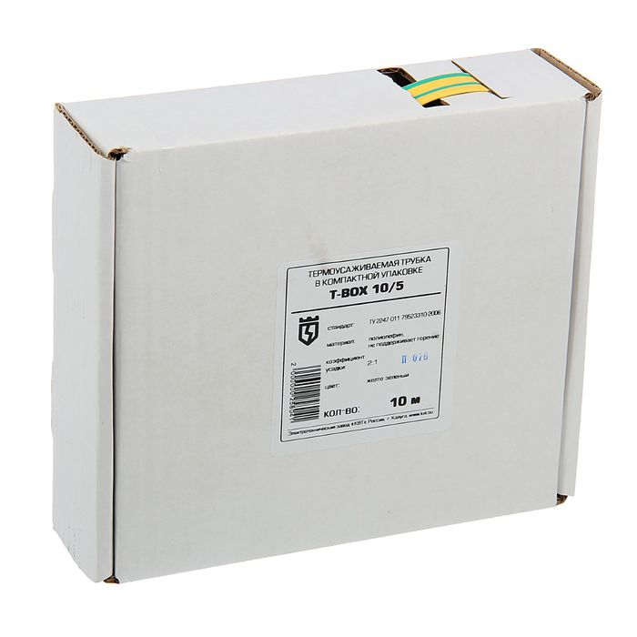 T-BOX 10/5, желто-зеленый, 10 м