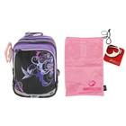 Рюкзак школьный эргономичная спинка для девочки Bagmaster S1A 0115B 40*31*20 + ПОДАРОК: мешок д/обуви