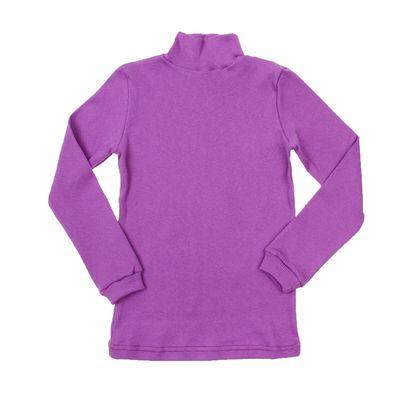 Водолазка для девочки, рост 98-104 см, цвет лиловый (арт. 1015_Д)
