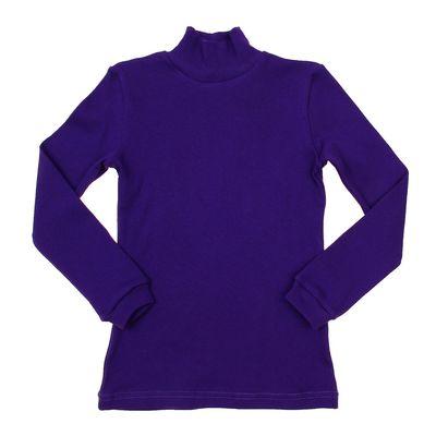 Водолазка для мальчика, рост 110-116 см, цвет тёмно-фиолетовый (арт. 1015_Д)