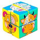 Набор мягких кубиков «Собери картинку.Зверята» - фото 106546048