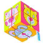 Набор мягких кубиков «Собери картинку.Зверята» - фото 106546051