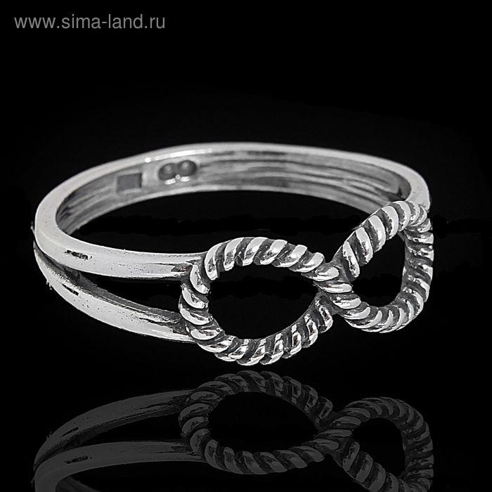 "Кольцо ""Дубту"", размер 18, цвет чернёное серебро"