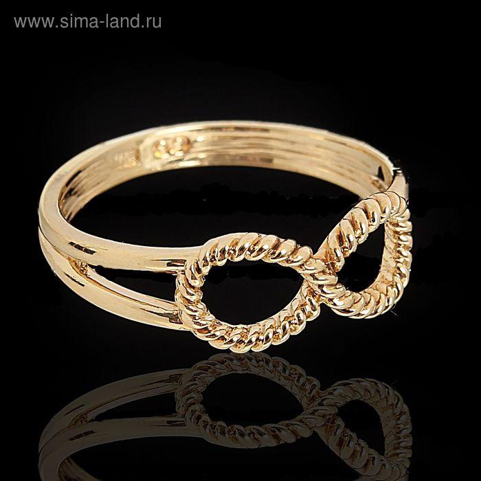 "Кольцо ""Дубту"", размер 17, цвет золото"