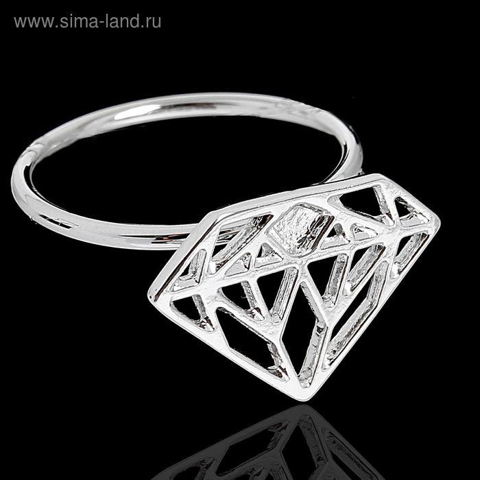 "Кольцо ""Эпик"", размер 16, цвет серебро"