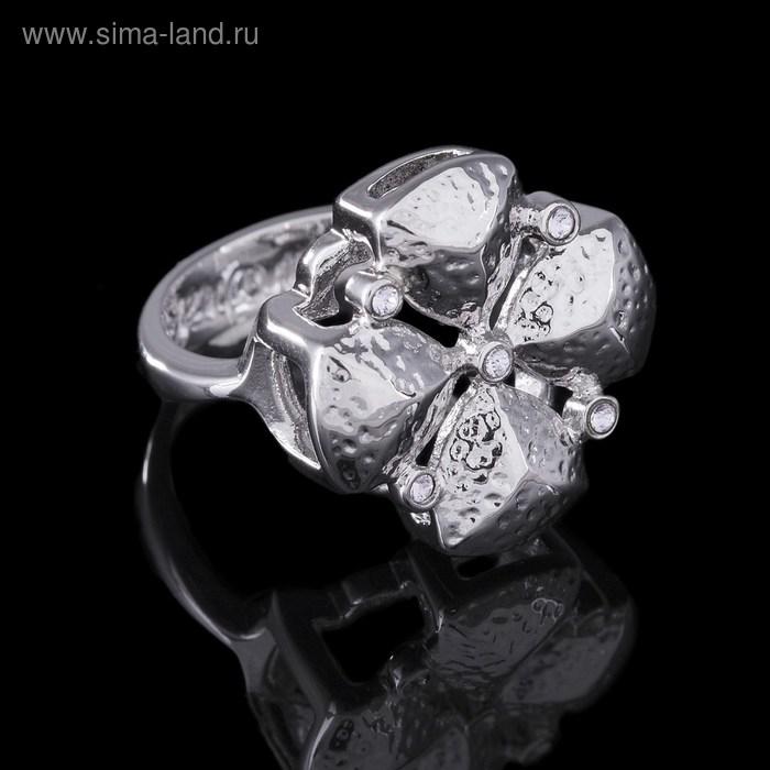 "Кольцо ""Рялеция"", размер 19, цвет серебро"