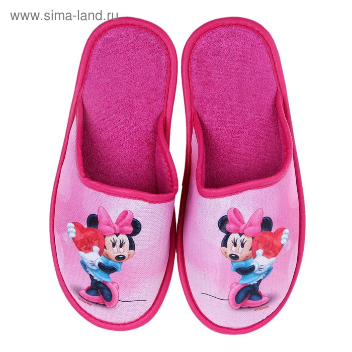 Тапочки Disney, размер 40, цвет розовый (арт. BTW70601-34-03)