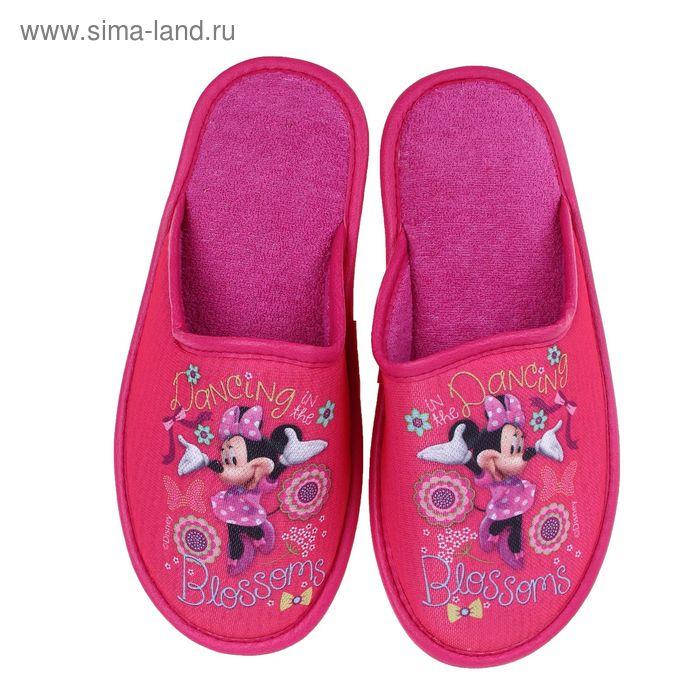Тапочки Disney, размер 38, цвет розовый (арт. BTW70601-34-05)