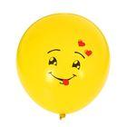 """Набор воздушных шаров """"Смайл с языком"""" 5 шт. 10"""""""