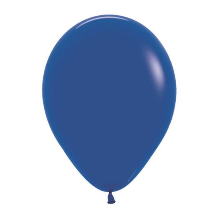 """Шар латексный 12"""", пастель, набор 25 шт., цвет синий - фото 296699136"""