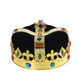 Корона «Король», цвет чёрный