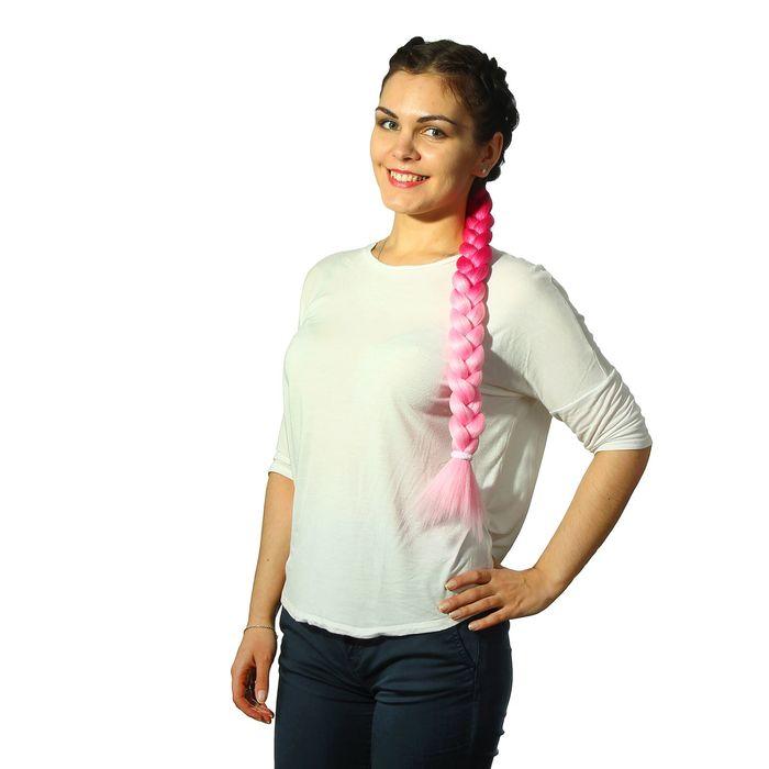 Коса на резинке «Барбара», 60 см - фото 1660889