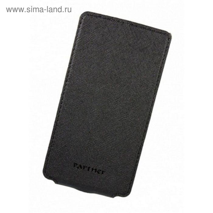 """Чехол Partner Flip-case 4,5"""", черный  (размер 7*13.5 см)"""