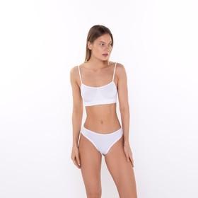 Топ женский, цвет белый (bianco), размер S/M 609439