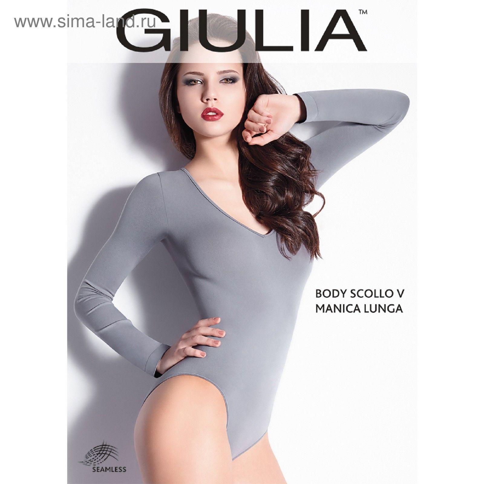 f5f821e1c11d662 Боди женское, цвет белый (bianco), размер M/L 607915 (BODY SCOLLO V ...