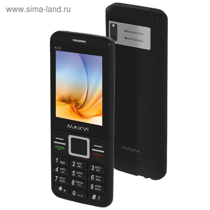 Мобильный телефон Maxvi K10, чёрный