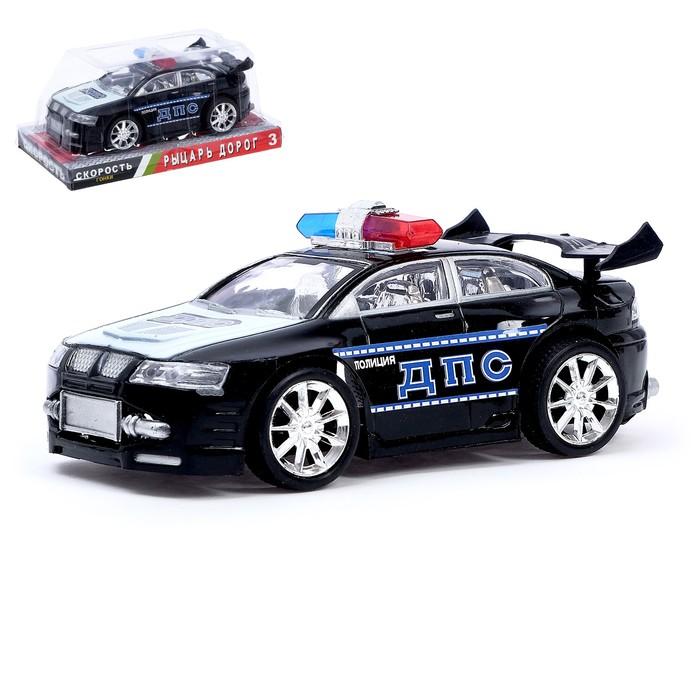 Машина инерционная «Полицейская гонка», цвета МИКС