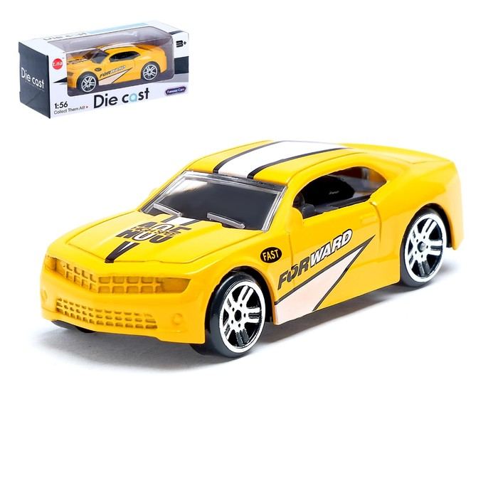 Машина металлическая «СпортКар», масштаб 1:56, МИКС