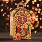 """Подарочная коробка """"Пять минут"""", часы малые, сборная, 13,8 х 7 х 22 см"""