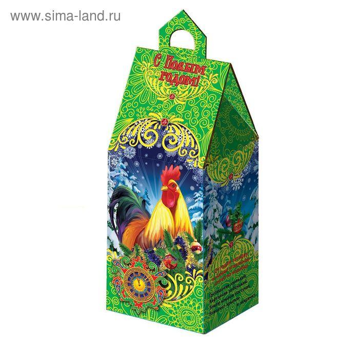 "Подарочная коробка ""Год Петуха"", сборная, 7,3х9х23 см"