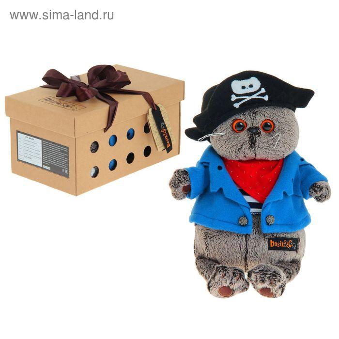 """Мягкая игрушка """"Басик - пират"""""""