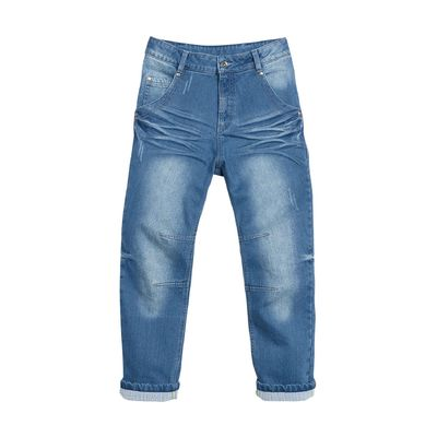 Джинсы для мальчика, 8 лет, цвет синий BWP475/1